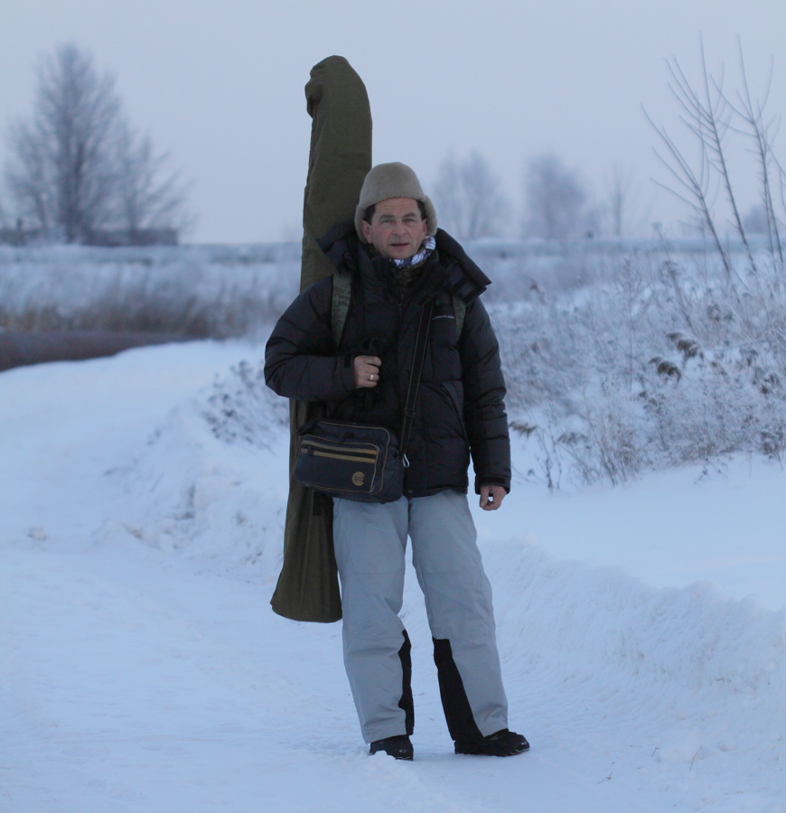 зимняя фотоохота